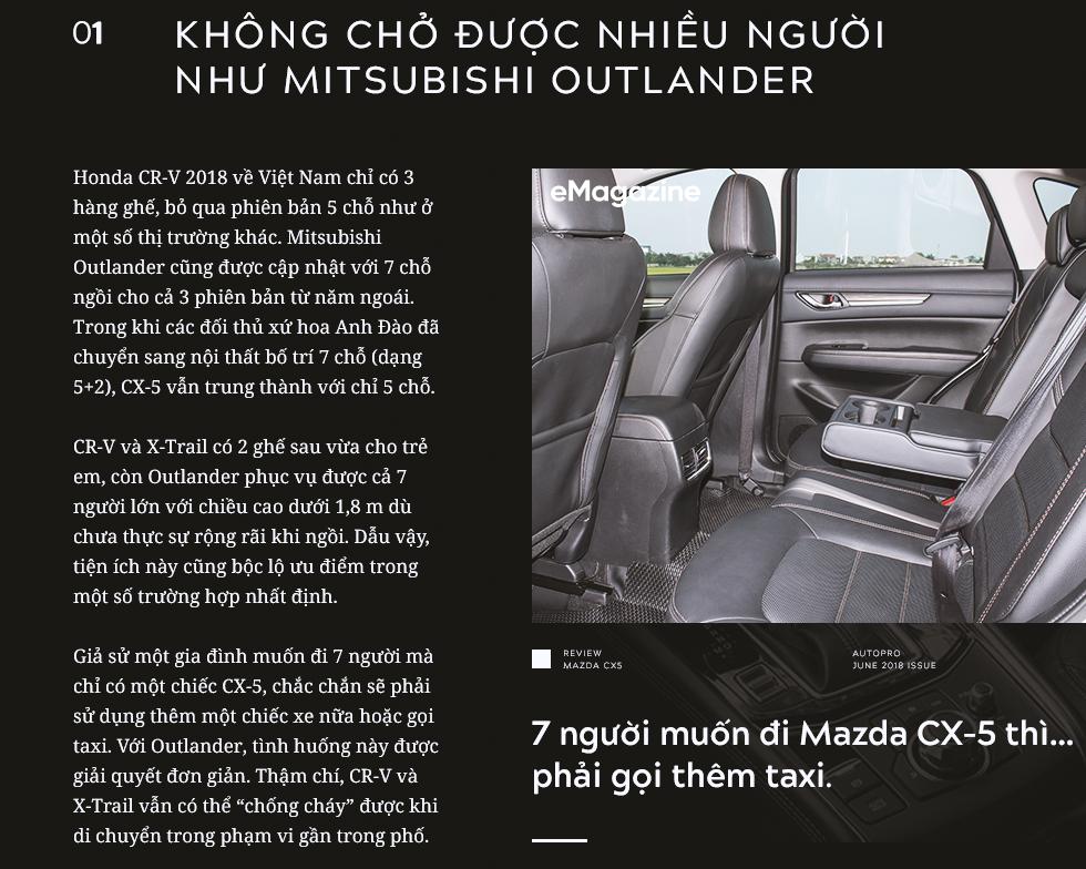 Đánh giá Mazda CX-5 sau khi lái toàn bộ các đối thủ: Xe hợp cho người lười - Ảnh 3.