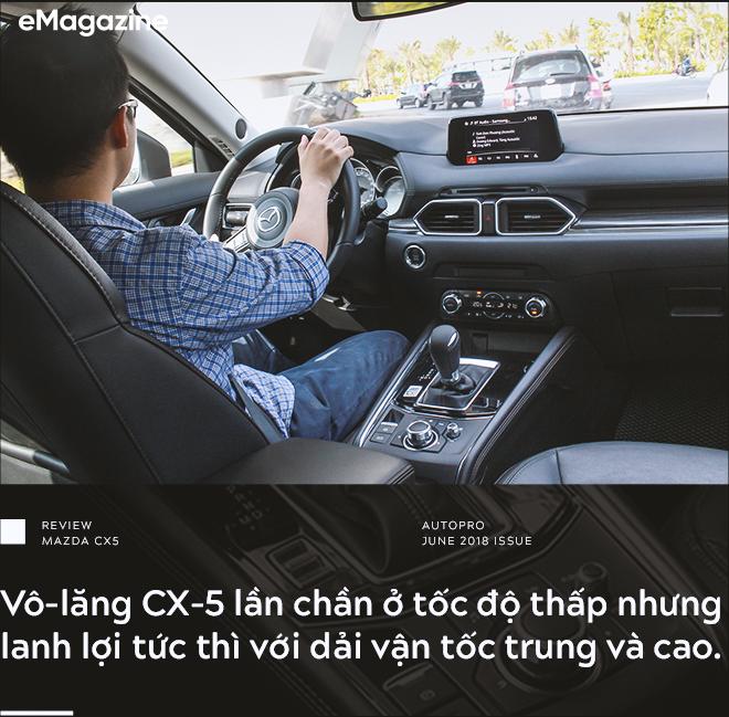 Đánh giá Mazda CX-5 sau khi lái toàn bộ các đối thủ: Xe hợp cho người lười - Ảnh 9.