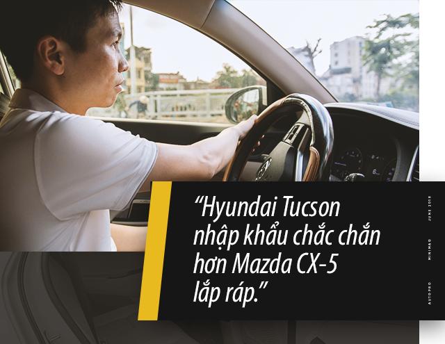 Fan xe Hàn đánh giá Hyundai Tucson nhập khẩu sau hơn 1 năm sử dụng: Như xe Đức giá Hàn - Ảnh 7.