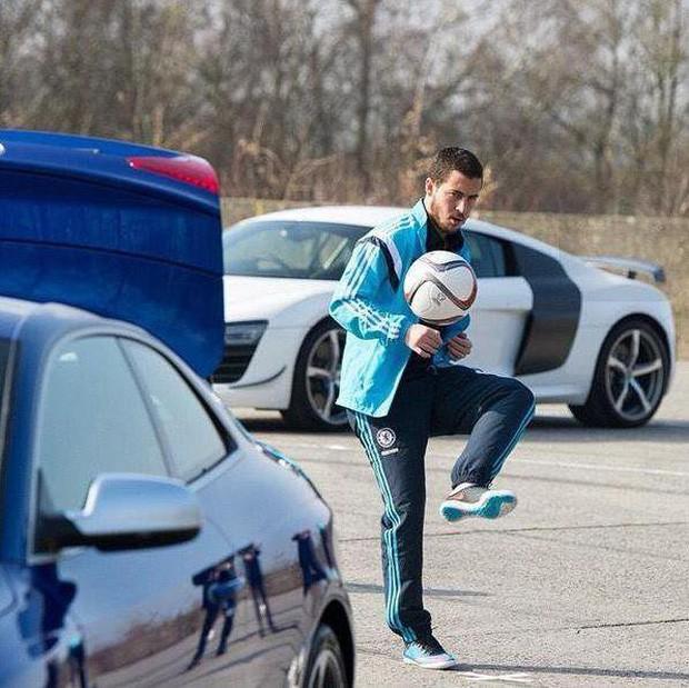 Bộ sưu tập xế khủng của ngôi sao tuyển Bỉ Eden Hazard - Ảnh 4.