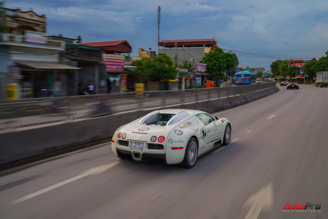 Siêu phẩm Bugatti Veyron đã bảo dưỡng xong, sẵn sàng quay trở lại chặng cuối hành trình xuyên Việt - Ảnh 5.