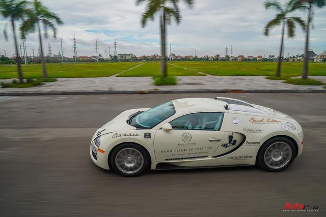 Siêu phẩm Bugatti Veyron đã bảo dưỡng xong, sẵn sàng quay trở lại chặng cuối hành trình xuyên Việt - Ảnh 1.