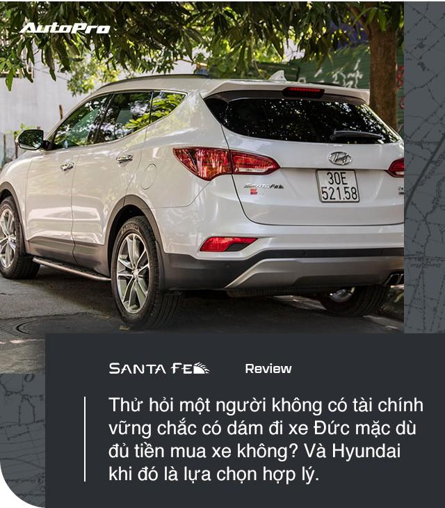"""Dùng tới 2 chiếc Hyundai Santa Fe, người dùng đánh giá: """"Nuôi xe rẻ bèo"""" - Ảnh 12."""