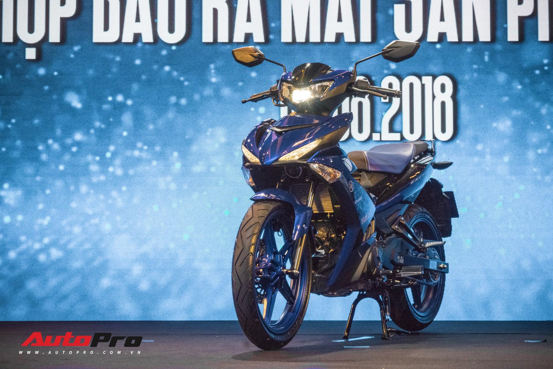 Vua xe côn tay Yamaha Exciter 150 thêm bản mới giá từ 47 triệu đồng,