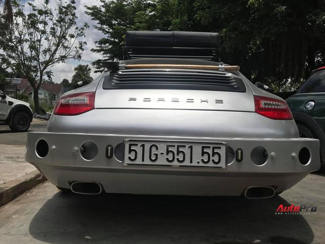 Thợ Việt lột xác xe thể thao Porsche 911 Carrera theo phong cách trèo đèo lội suối - Ảnh 6.