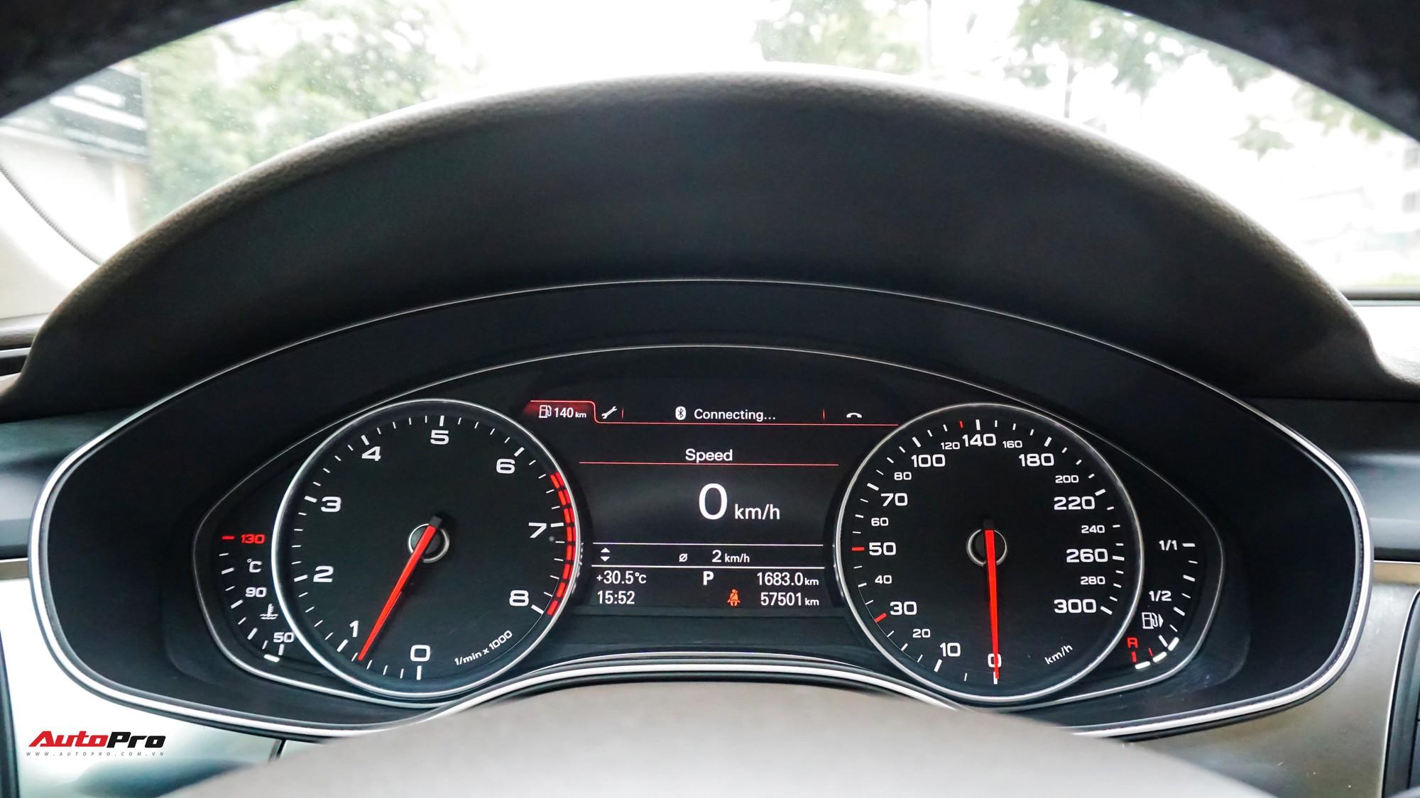 Audi A7 Sportback 7 năm tuổi bán lại 1,5 tỷ đồng tại Hà Nội - Ảnh 8.