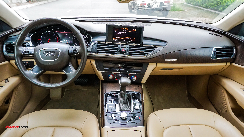 Audi A7 Sportback 7 năm tuổi bán lại 1,5 tỷ đồng tại Hà Nội - Ảnh 6.