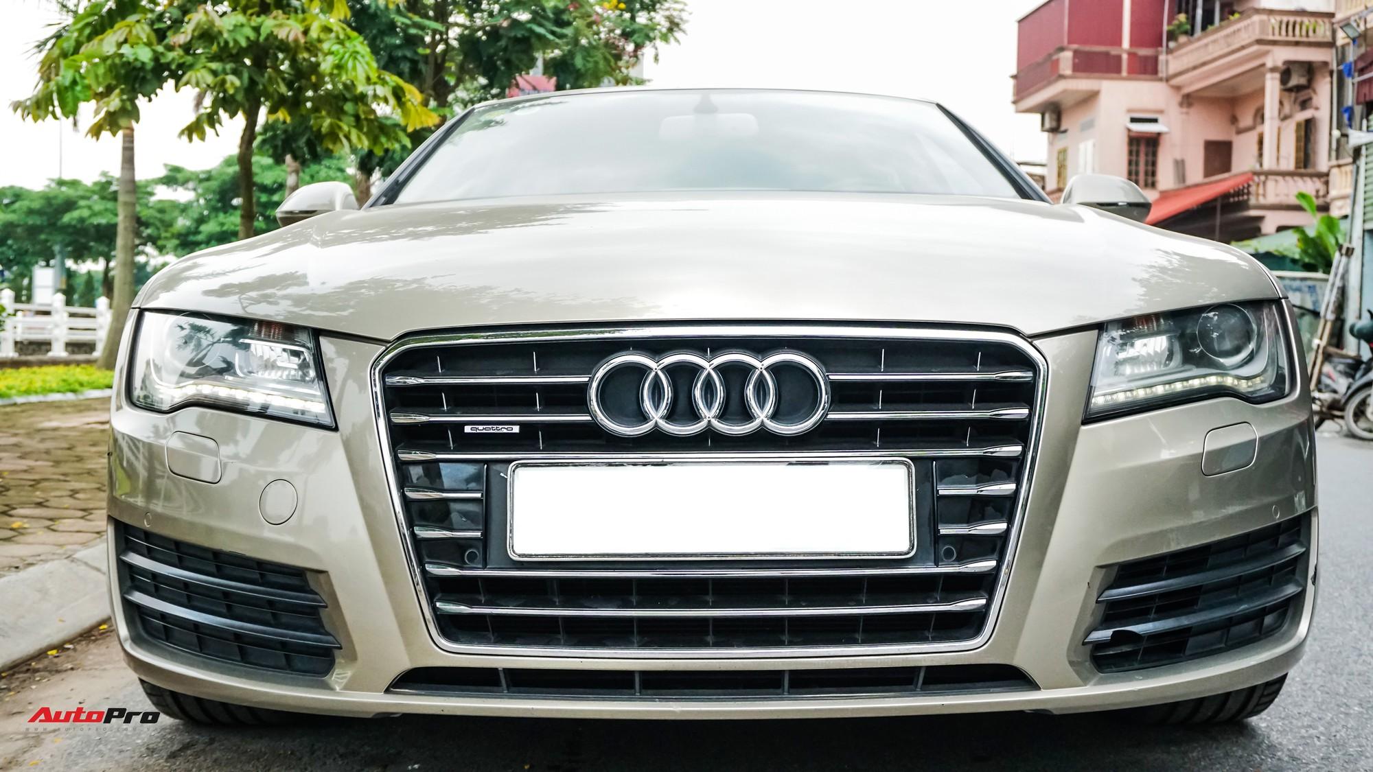 Audi A7 Sportback 7 năm tuổi bán lại 1,5 tỷ đồng tại Hà Nội - Ảnh 1.