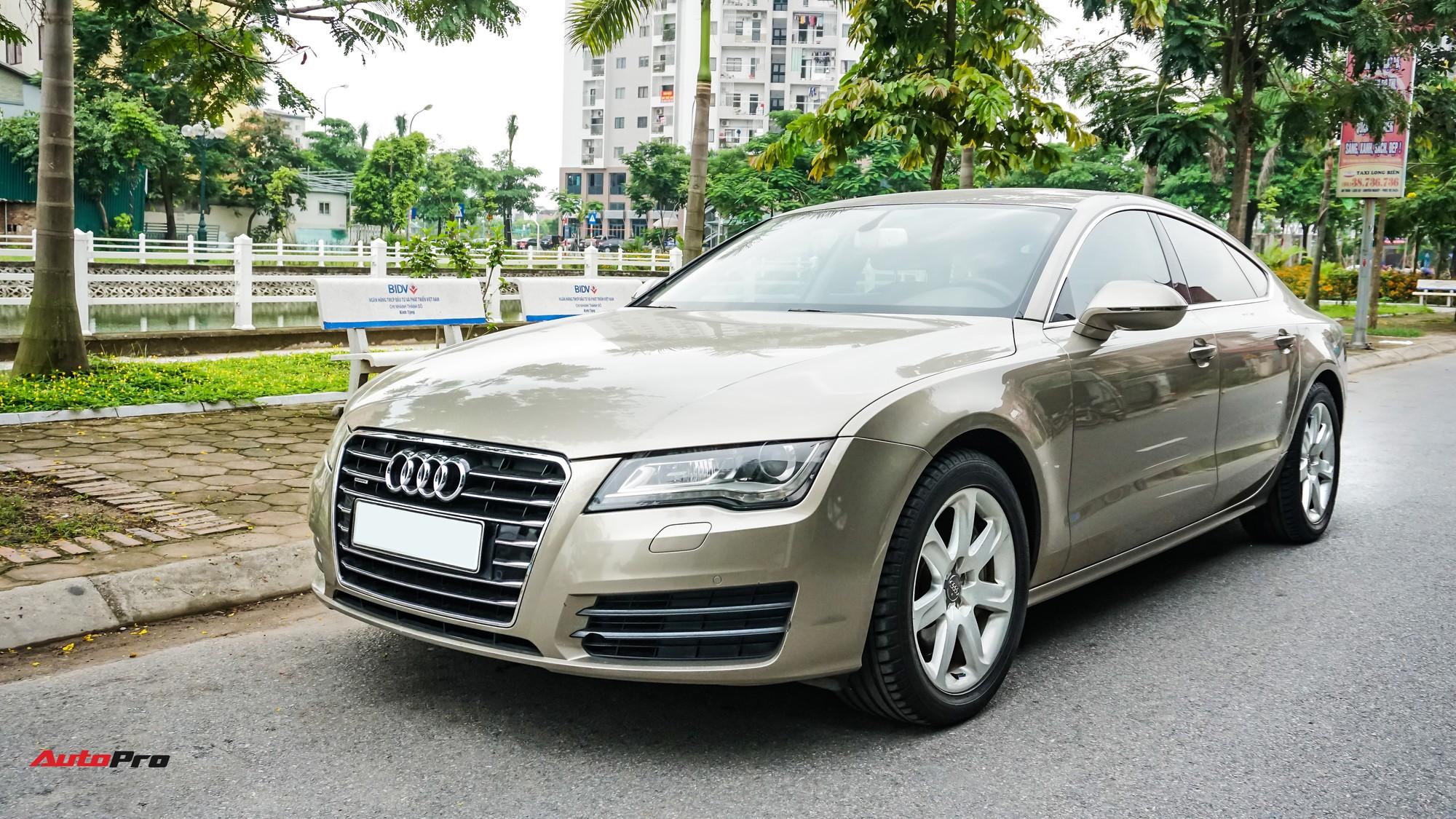 Audi A7 Sportback 7 năm tuổi bán lại 1,5 tỷ đồng tại Hà Nội - Ảnh 17.