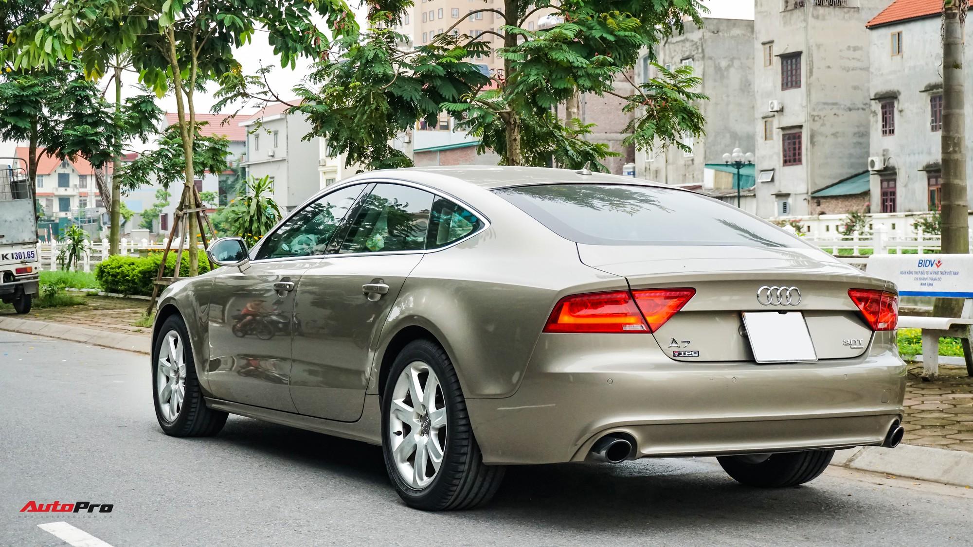 Audi A7 Sportback 7 năm tuổi bán lại 1,5 tỷ đồng tại Hà Nội - Ảnh 4.