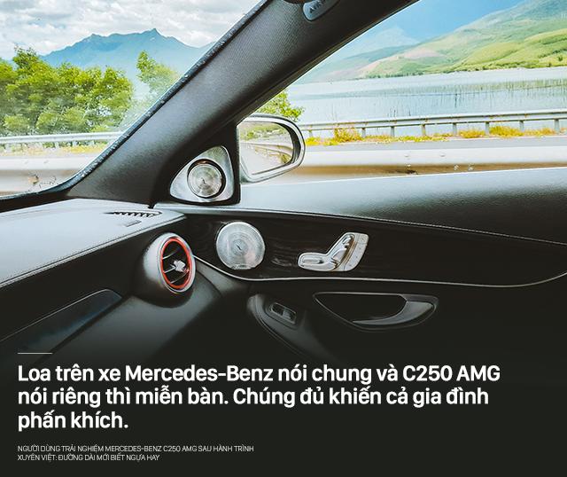Người dùng trải nghiệm Mercedes-Benz C250 AMG sau hành trình xuyên Việt: Đường dài mới biết ngựa hay - Ảnh 8.