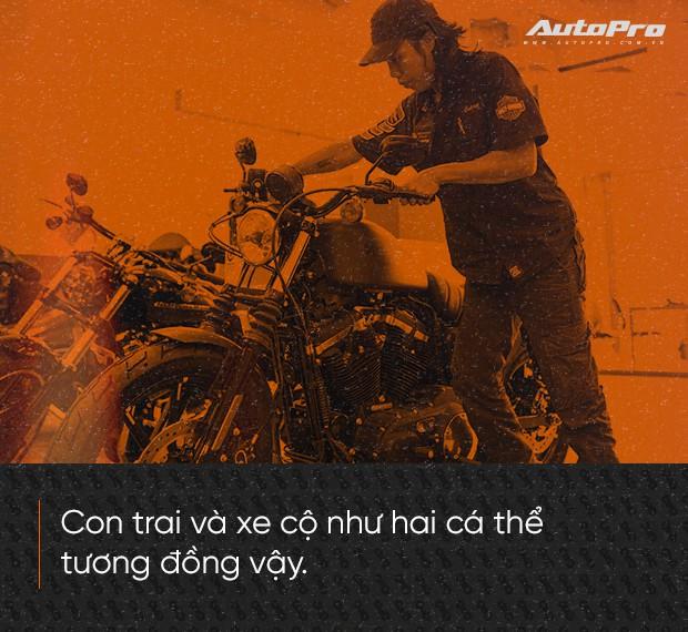 Quốc Cường: Từ chàng rửa xe tới bậc thầy kỹ thuật Harley-Davidson duy nhất Việt Nam - Ảnh 4.
