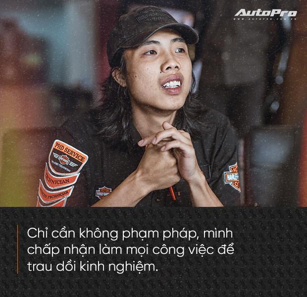 Quốc Cường: Từ chàng rửa xe tới bậc thầy kỹ thuật Harley-Davidson duy nhất Việt Nam - Ảnh 2.