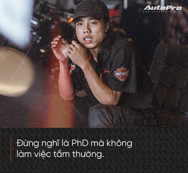 Quốc Cường: Từ chàng rửa xe tới bậc thầy kỹ thuật Harley-Davidson duy nhất Việt Nam - Ảnh 9.