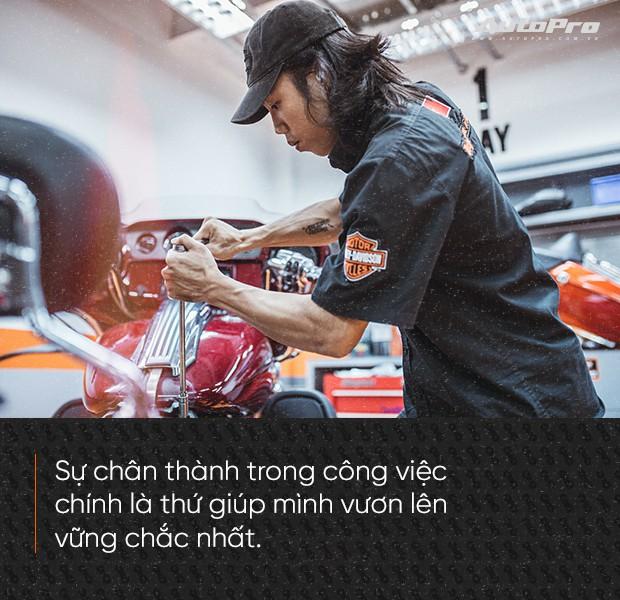 Quốc Cường: Từ chàng rửa xe tới bậc thầy kỹ thuật Harley-Davidson duy nhất Việt Nam - Ảnh 6.