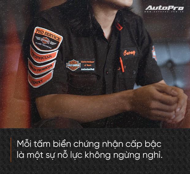Quốc Cường: Từ chàng rửa xe tới bậc thầy kỹ thuật Harley-Davidson duy nhất Việt Nam - Ảnh 8.