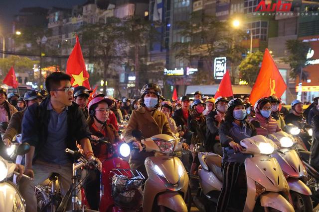 U23 Việt Nam tiến vào chung kết - đêm không ngủ của giao thông Hà Nội - Ảnh 4.
