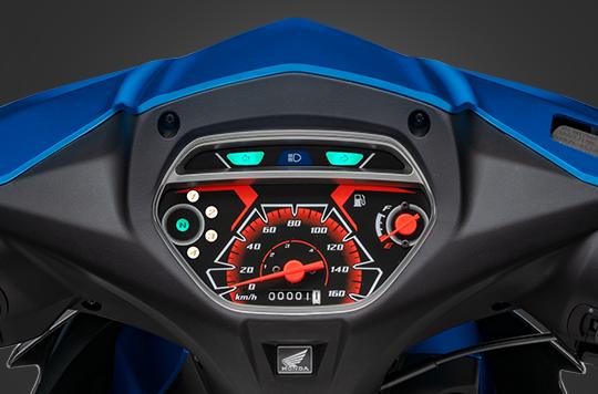 Xe máy giá rẻ Honda Blade 110cc ra mắt phiên bản mới - Ảnh 2.