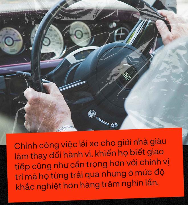 Bí ẩn cay đắng sau nghề lái xe cho nhà giàu: Giữ kín những chuyện quái đản và những đồng lương thách thức bản lĩnh - Ảnh 16.