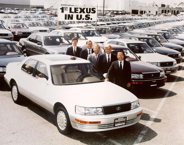 Copy Mercedes - Công thức khởi nghiệp thành công của Lexus - Ảnh 1.