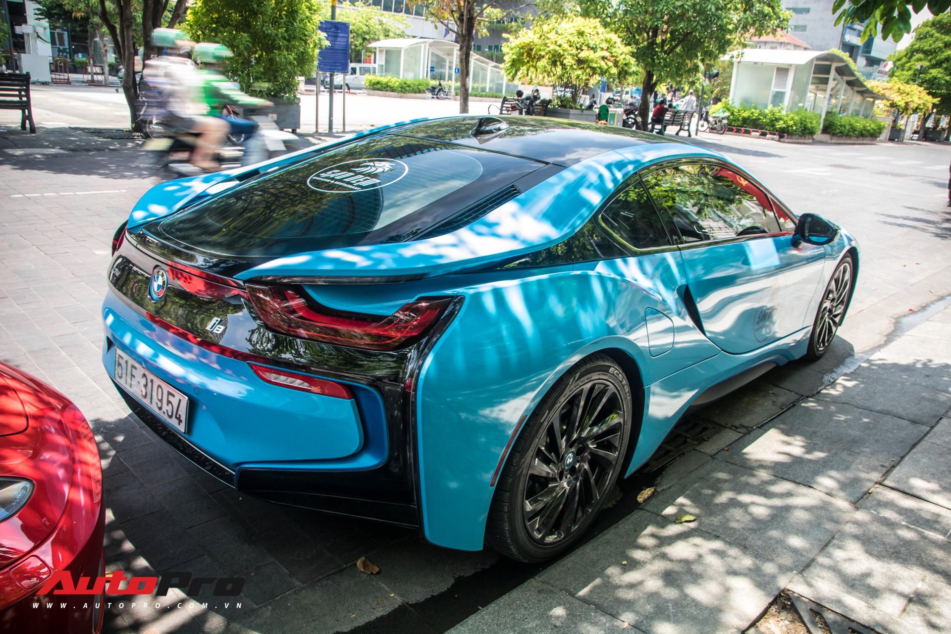 BMW i8 đã trở nên đại trà ở Việt Nam, chủ chiếc xe này chọn cách làm mới khác biệt để tạo điểm nhấn - Ảnh 2.