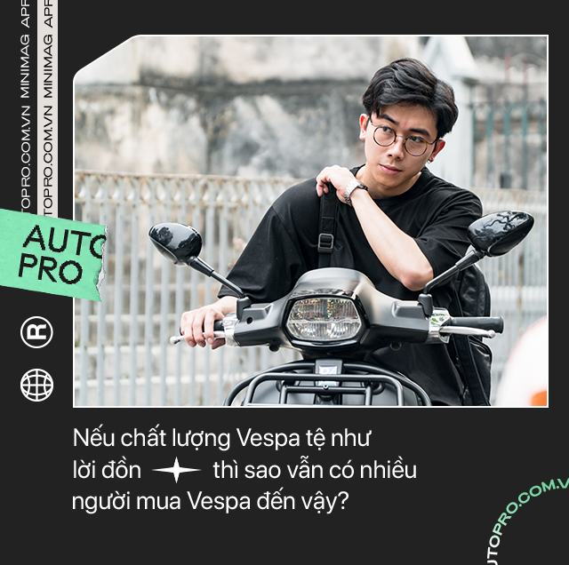 'Vespa nhanh tã' từ góc nhìn của chàng trai dùng xe Ý sau 5 năm chạy Honda Air Blade mãi không hỏng - Ảnh 8.