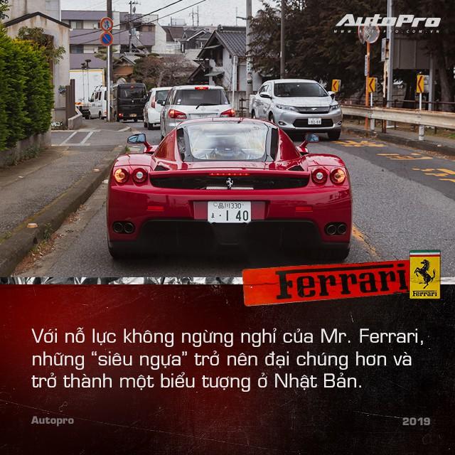 Mr. Ferrari - Tu tay choi sieu xe toi cha do dau cua ngua chom tai Nhat Ban
