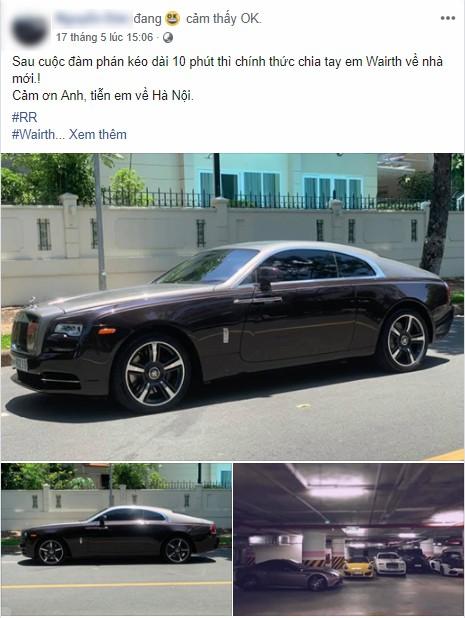Dân chơi đồng hồ khét tiếng Hà Nội bán Rolls-Royce Ghost độ, mua Rolls-Royce Wraith đặc biệt không kém - Ảnh 1.