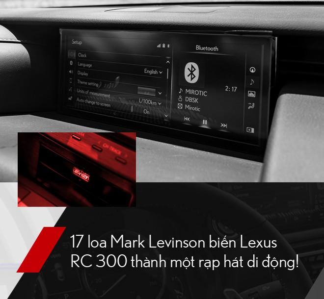 Đánh giá Lexus RC 300: Xe thể thao mang quá nhiều bất ngờ, đốn tim cả nữ giới - Ảnh 12.
