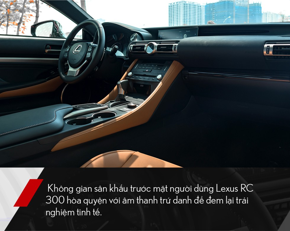 Đánh giá Lexus RC 300: Xe thể thao mang quá nhiều bất ngờ, đốn tim cả nữ giới - Ảnh 13.