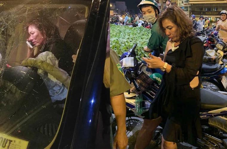 Nữ tài xế BMW giải thích câu để chị lo sau khi gây tai nạn ở Hàng Xanh, nói không biết có người chết nằm dưới xe mình - Ảnh 2.