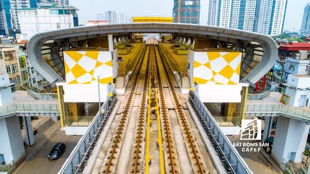 Sau 11 năm xây dựng, hình hài toàn tuyến metro đầu tiên của Việt Nam tại Hà Nội hiện nay như thế nào? - Ảnh 20.