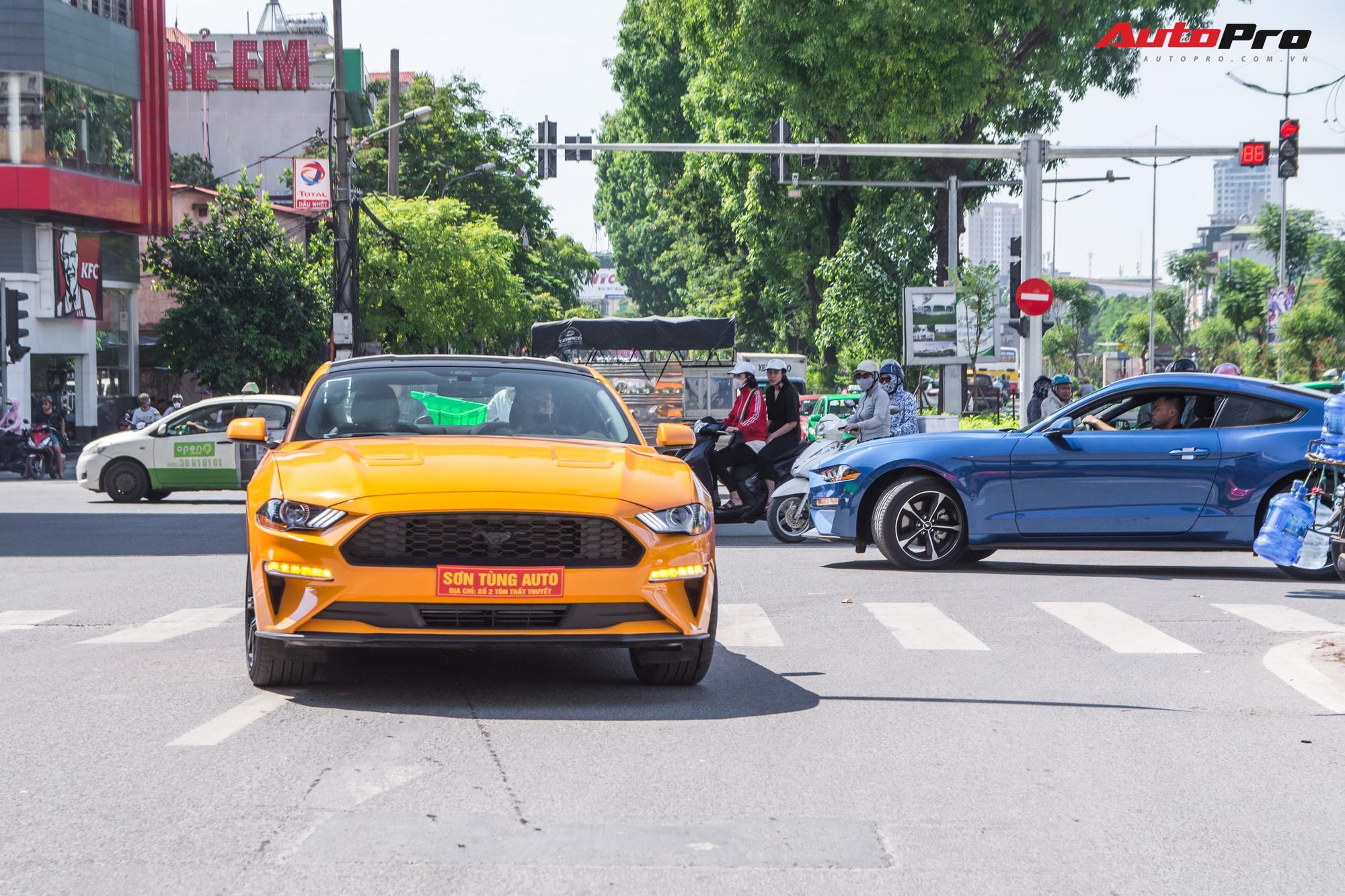 Dàn siêu xe, xe thể thao và xe siêu sang trị giá cả trăm tỷ diễu hành trên phố Hà Nội - Ảnh 19.