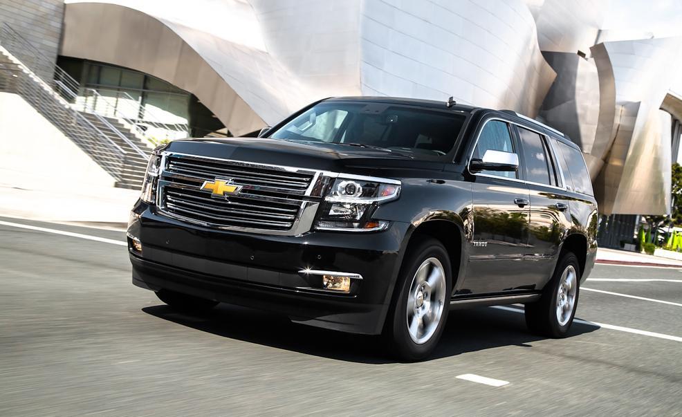 Chevrolet Tahoe là mẫu SUV duy nhất góp mặt trong danh sách. Ảnh minh họa