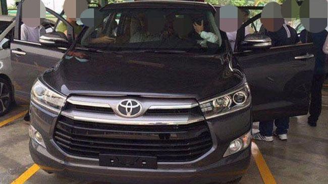 Toyota Innova thế hệ mới xuất hiện tại Việt Nam. Ảnh: Otofun