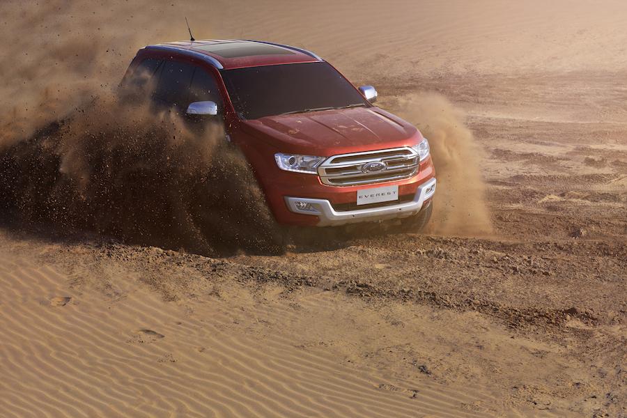 Ford Everest thế hệ mới có chỉ số lực cản chỉ 0,389.
