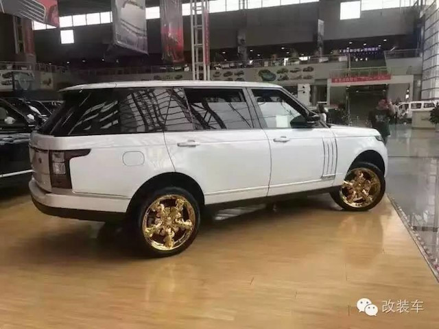 Xuất hiện bộ mâm (la-zăng) rồng Range Rover gây xôn xao dân mê độ xê 2