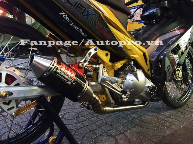 Ngắm Yamaha Exciter 135 độ hàng hiệu có trị giá 50 triệu của biker Gia Lai 10