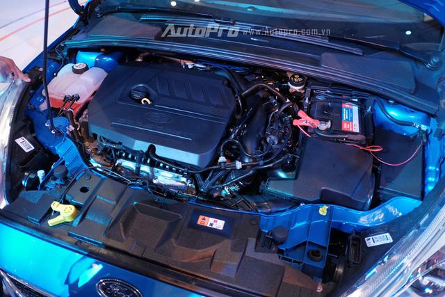 Điểm nổi bật của Ford Focus mới chính là ở khối động cơ EcoBoost 1.5L có công suất tối đa 177 mã lực và mô-men xoắn cực đại đạt 240Nm.