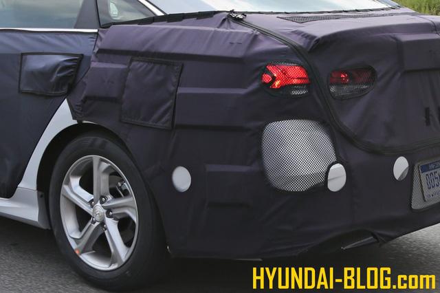 Bắt gặp Hyundai Sonata 2021 - 2021 lộ diện trên đường thử  3