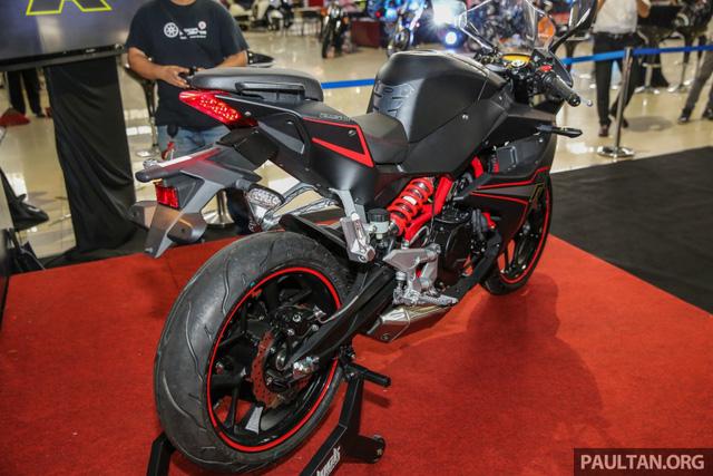 Xe mới Naza N5R 2016 mẫu mô tô thể thao phân khối nhỏ tại Malaysia 4