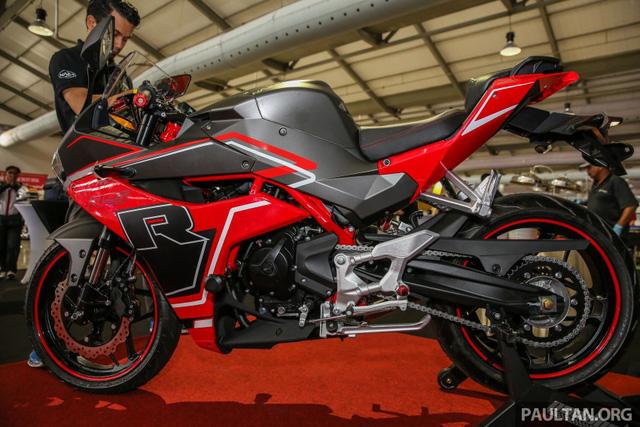 Xe mới Naza N5R 2016 mẫu mô tô thể thao phân khối nhỏ tại Malaysia 10