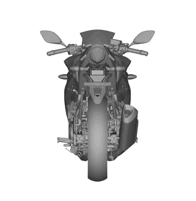 Lộ ảnh Suzuki GSX-R250 2017, đối thủ mới của Honda CBR250RR sắp xuất hiện 3