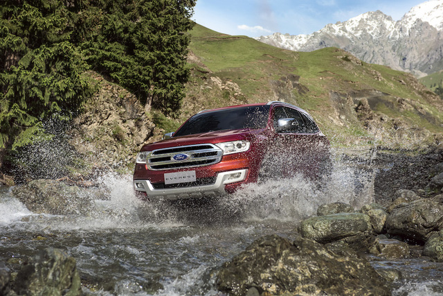 Ford Everest thế hệ mới