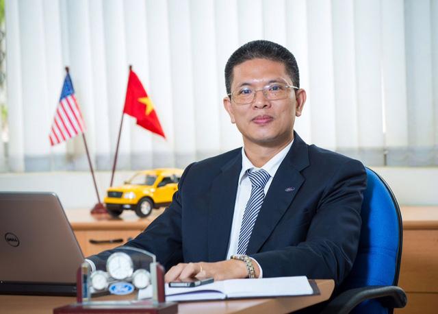 Ông Phạm Văn Dũng, Tổng giám đốc người Việt đầu tiên của Ford Việt Nam.