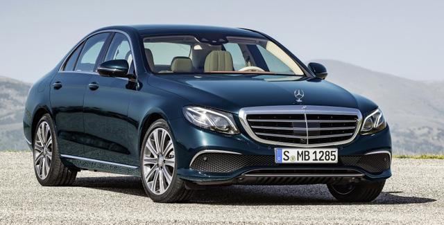 Mercedes-Benz E-Class thế hệ mới sắp ra mắt Thái Lan.