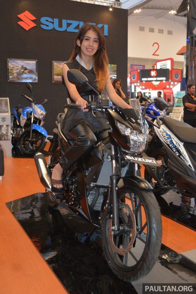 Chi tiết Suzuki Satria F150 FI màu đen mờ (Black Predator) giá 37,4 triệu VNĐ 2