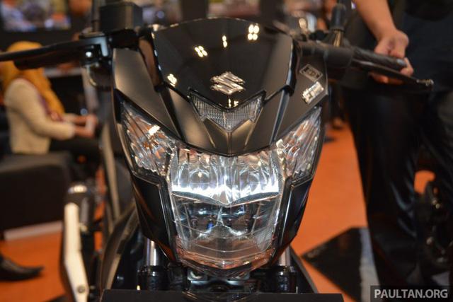 Chi tiết Suzuki Satria F150 FI màu đen mờ (Black Predator) giá 37,4 triệu VNĐ 8