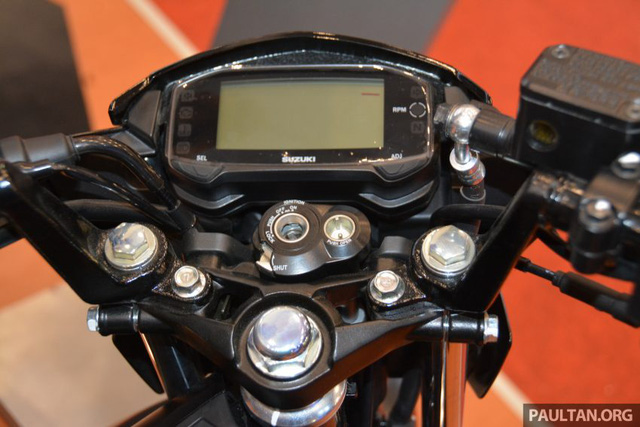 Chi tiết Suzuki Satria F150 FI màu đen mờ (Black Predator) giá 37,4 triệu VNĐ 7