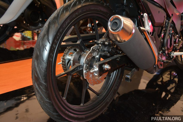 Chi tiết Suzuki Satria F150 FI màu đen mờ (Black Predator) giá 37,4 triệu VNĐ 6